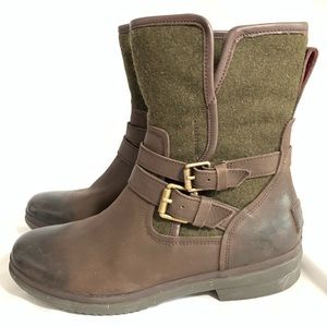 UGGS OMBRÉ ROBBIE MORORCYCLE BOOTS